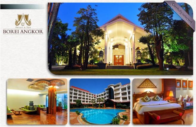 ★★★★★ Borei Angkor Resort & Spa 寶麗安